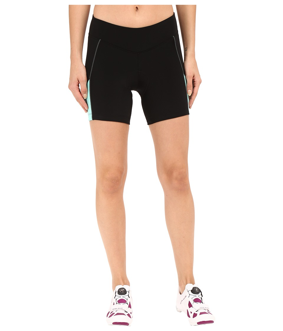 Pearl Izumi - W Sugar Short (Black/Aqua Mint) Women's Shorts