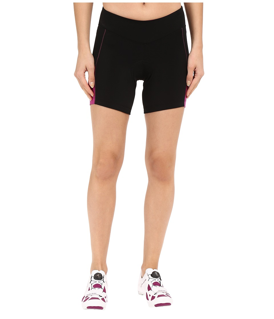 Pearl Izumi - W Sugar Short (Black/Purple Wine) Women's Shorts
