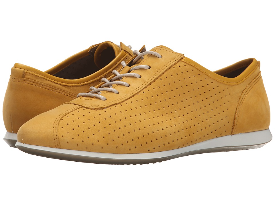 ECCO - Touch Sneaker (Saffron/Saffron) Women's Lace up casual Shoes