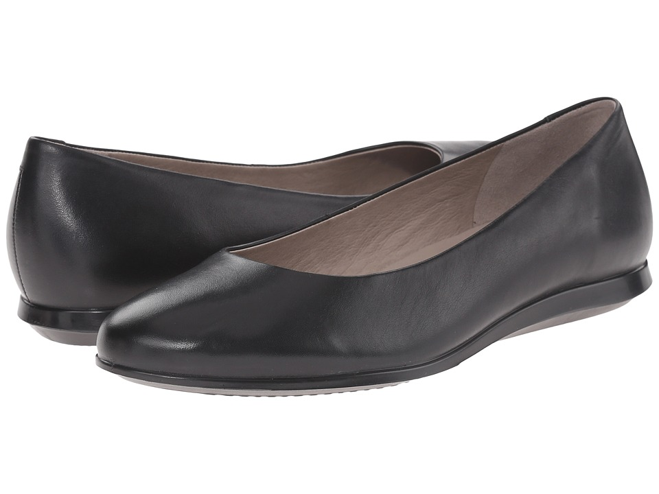 ECCO - Touch Ballerina 2.0 (Black) Women's Slip on Shoes