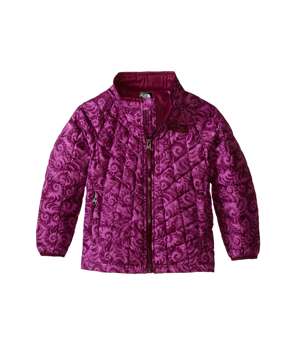 The North Face Kids - Thermoball Jacket (Toddler) (Sweet Violet Nautilus Print) Girl's Coat