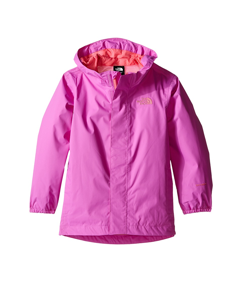 The North Face Kids Tailout Rain Jacket (Toddler) (Sweet Violet) Girl