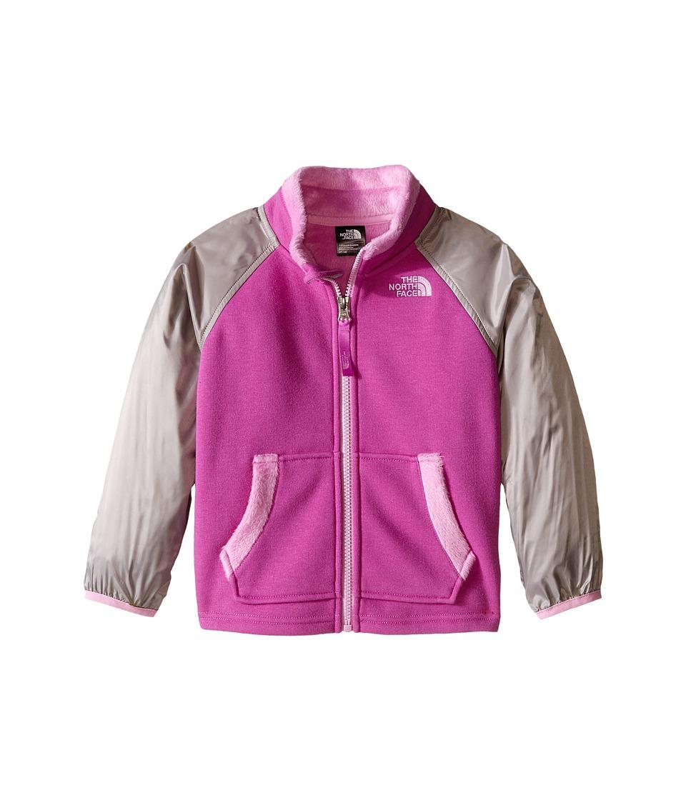 The North Face Kids - Silver Skye Track Jacket (Toddler) (Sweet Violet) Girl's Coat