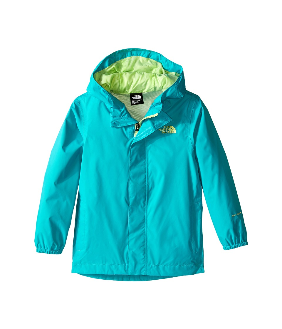 The North Face Kids Tailout Rain Jacket (Toddler) (Bluebird) Girl