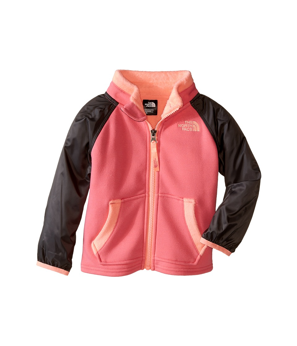The North Face Kids - Silver Skye Track Jacket (Toddler) (Cha Cha Pink) Girl's Coat