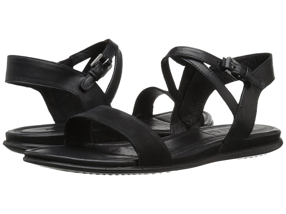 ECCO - Touch Ankle Sandal (Black/Black) Women's Sandals