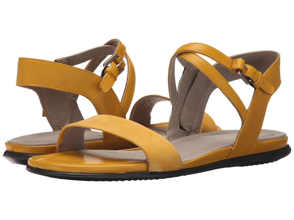 ECCO - Touch Ankle Sandal (Saffron/Saffron) Women