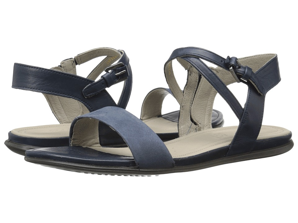 ECCO - Touch Ankle Sandal (Marine/Marine) Women's Sandals