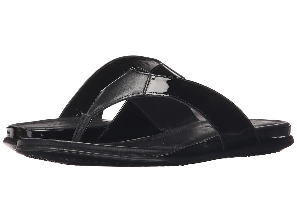 ECCO - Touch Thong (Black/Black) Women's Sandals