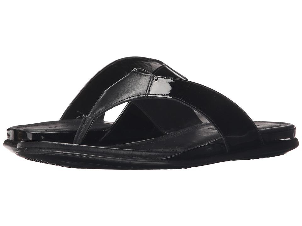 ECCO - Touch Thong (Black/Black) Women's Sandals