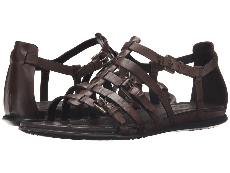 ECCO - Touch Strap Sandal (Coffee) Women's Sandals
