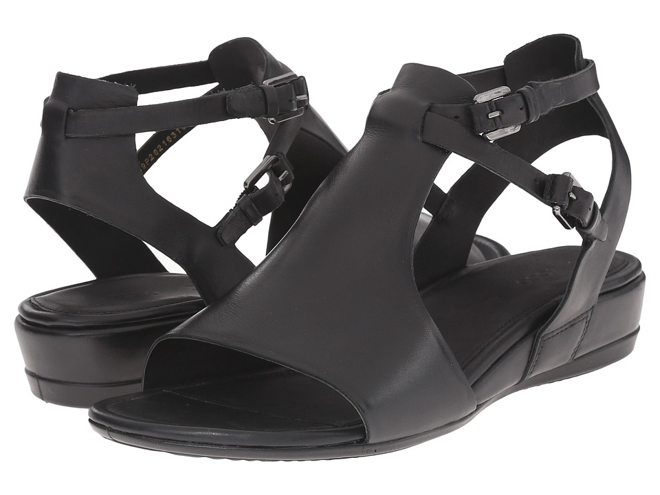 ECCO - Touch 25 Hooded Sandal (Black) Women's Sandals