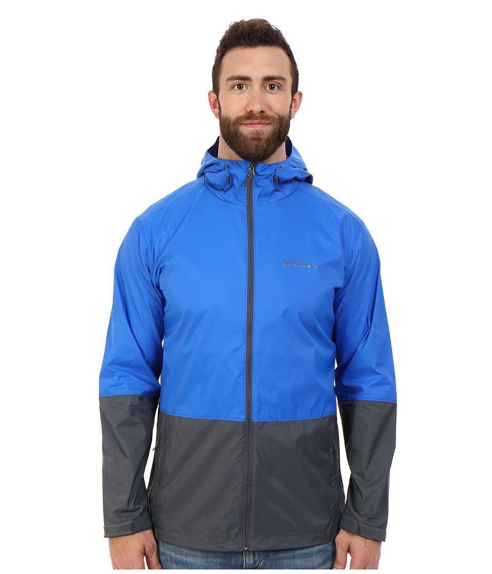 Columbia - Big Tall Roan Mountain Jacket (Super Blue/Graphite) Men's Coat