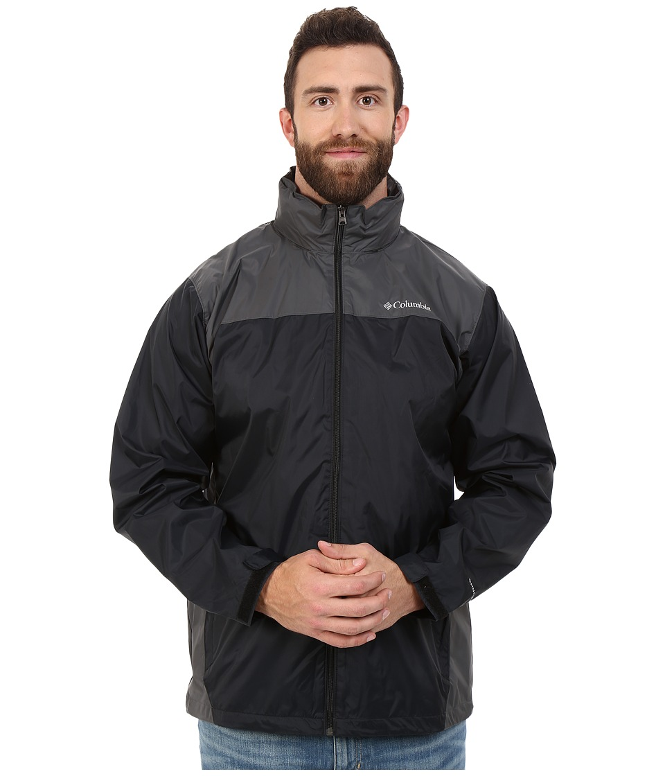 Columbia - Big Tall Glennaker Laketm Jacket (Black/Grill) Men's Coat