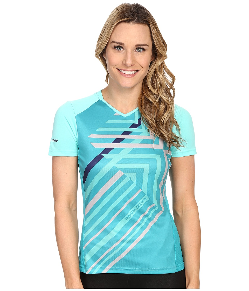Pearl Izumi - Launch Jersey (Aqua Mint) Women's Workout