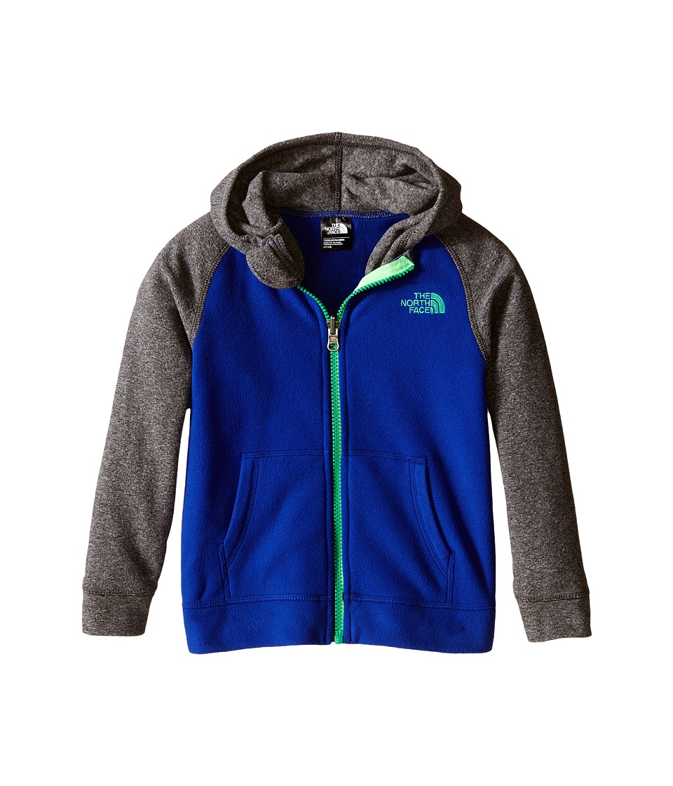 The North Face Kids - Glacier Full Zip Hoodie (Toddler) (Marker Blue) Boy's Sweatshirt