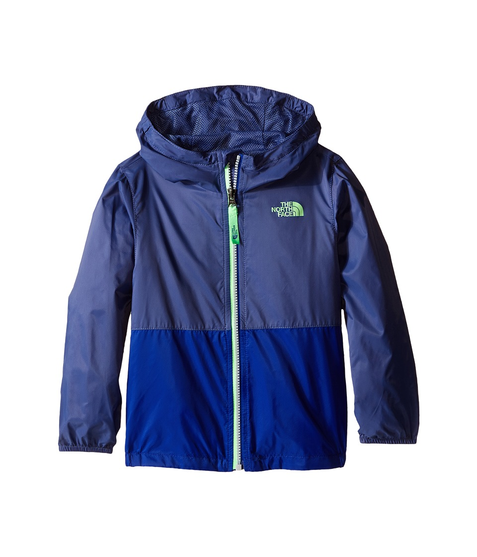 The North Face Kids - Flurry Wind Hoodie (Toddler) (Pelagic Blue) Boy's Coat