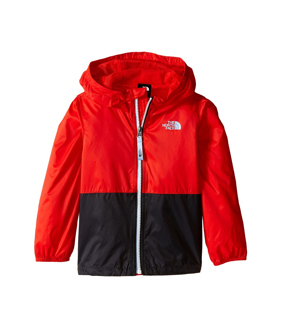 The North Face Kids - Flurry Wind Hoodie (Toddler) (Fiery Red) Boy's Coat