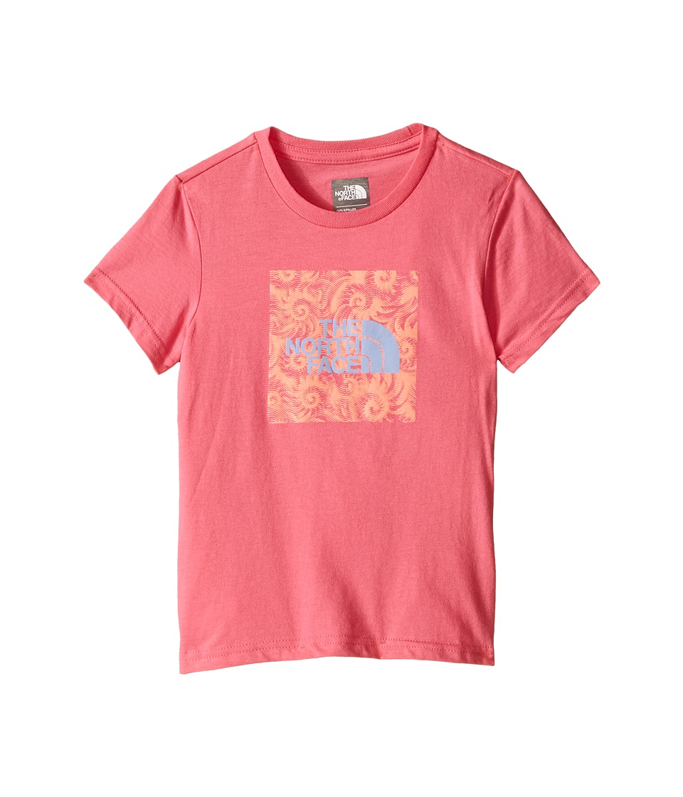 The North Face Kids - Short Sleeve Graphic Tee (Little Kids/Big Kids) (Cha Cha Pink) Girl's Short Sleeve Pullover