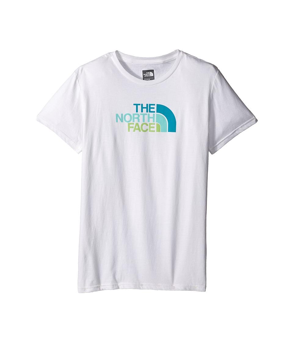 The North Face Kids - Short Sleeve Graphic Tee (Little Kids/Big Kids) (TNF White) Girl's Short Sleeve Pullover