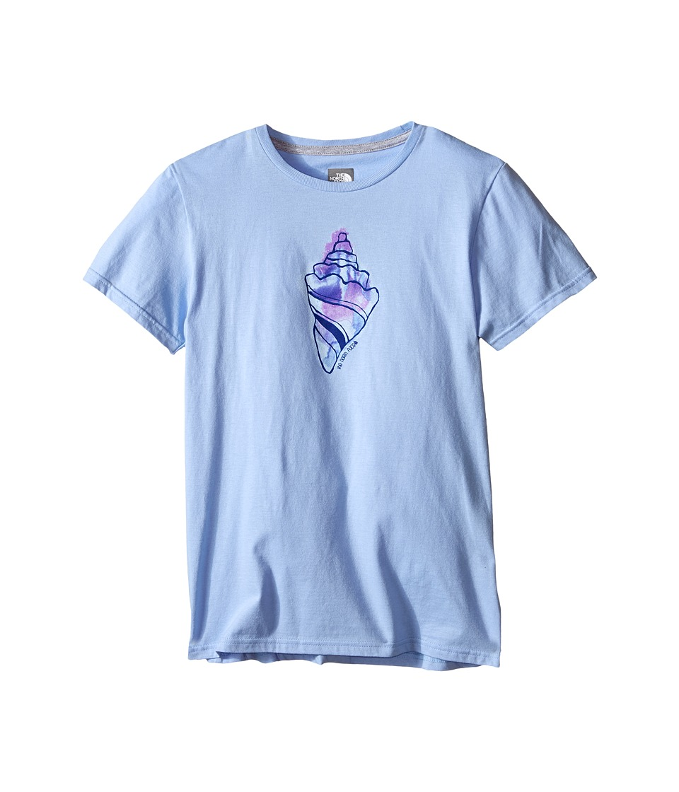 The North Face Kids - Short Sleeve Graphic Tee (Little Kids/Big Kids) (Collar Blue) Girl's Short Sleeve Pullover