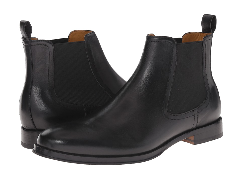 Ron White - Wes (Black Distressed Supple Calf) Men's Boots