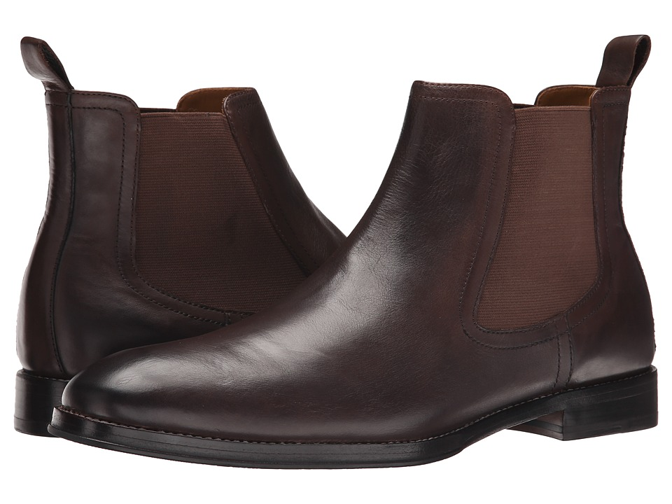 Ron White - Wes (Espresso Distressed Supple Calf) Men's Boots