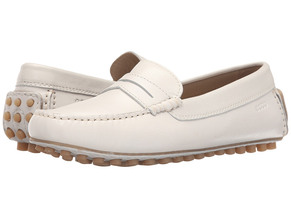 ECCO - Dynamic Moccasin Penny (Shadow White) Women's Moccasin Shoes