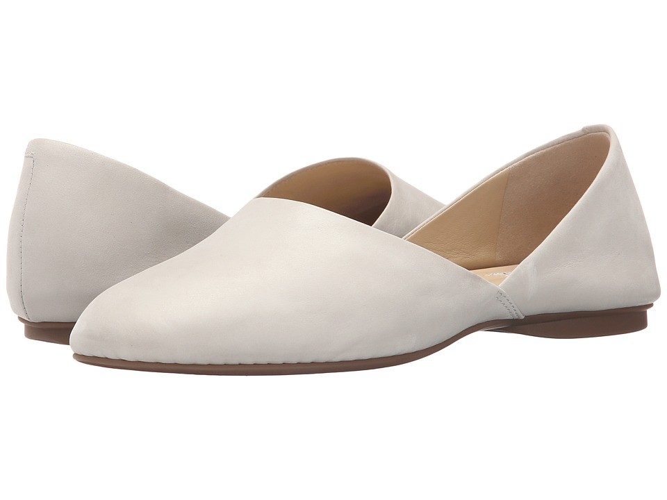 ECCO - Tasiha Modern Flat (White) Women's Flat Shoes