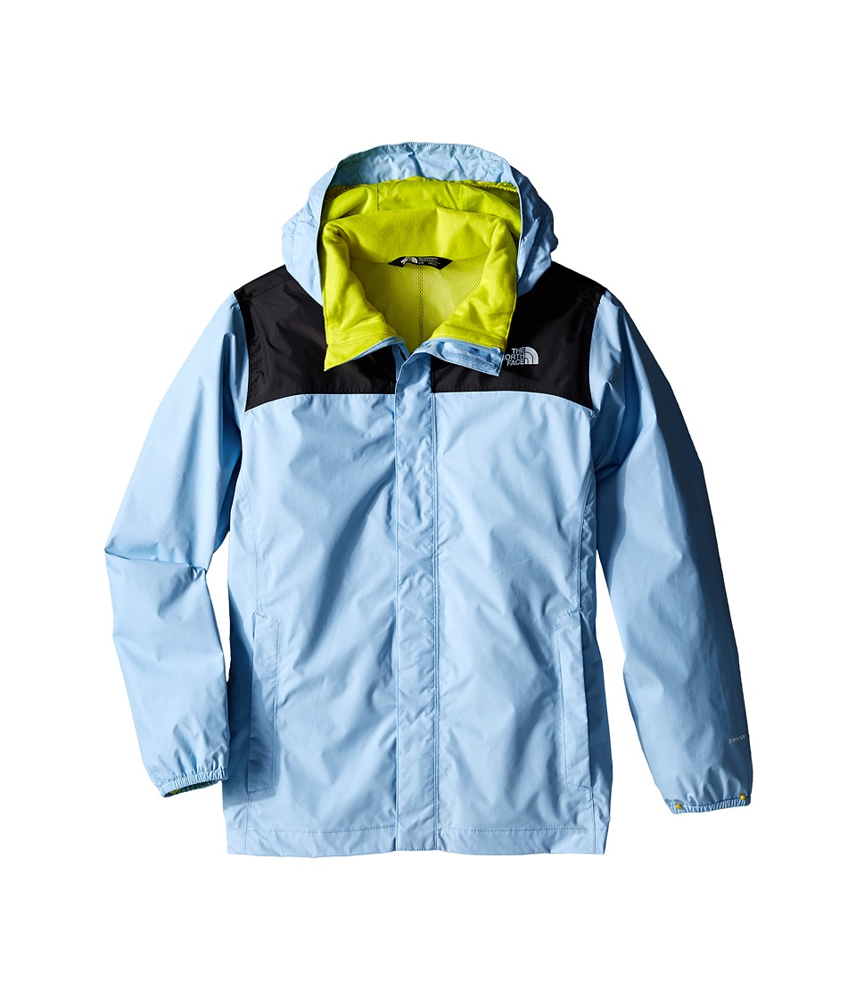 The North Face Kids - Resolve Reflective Jacket (Little Kids/Big Kids) (Powder Blue) Boy's Coat