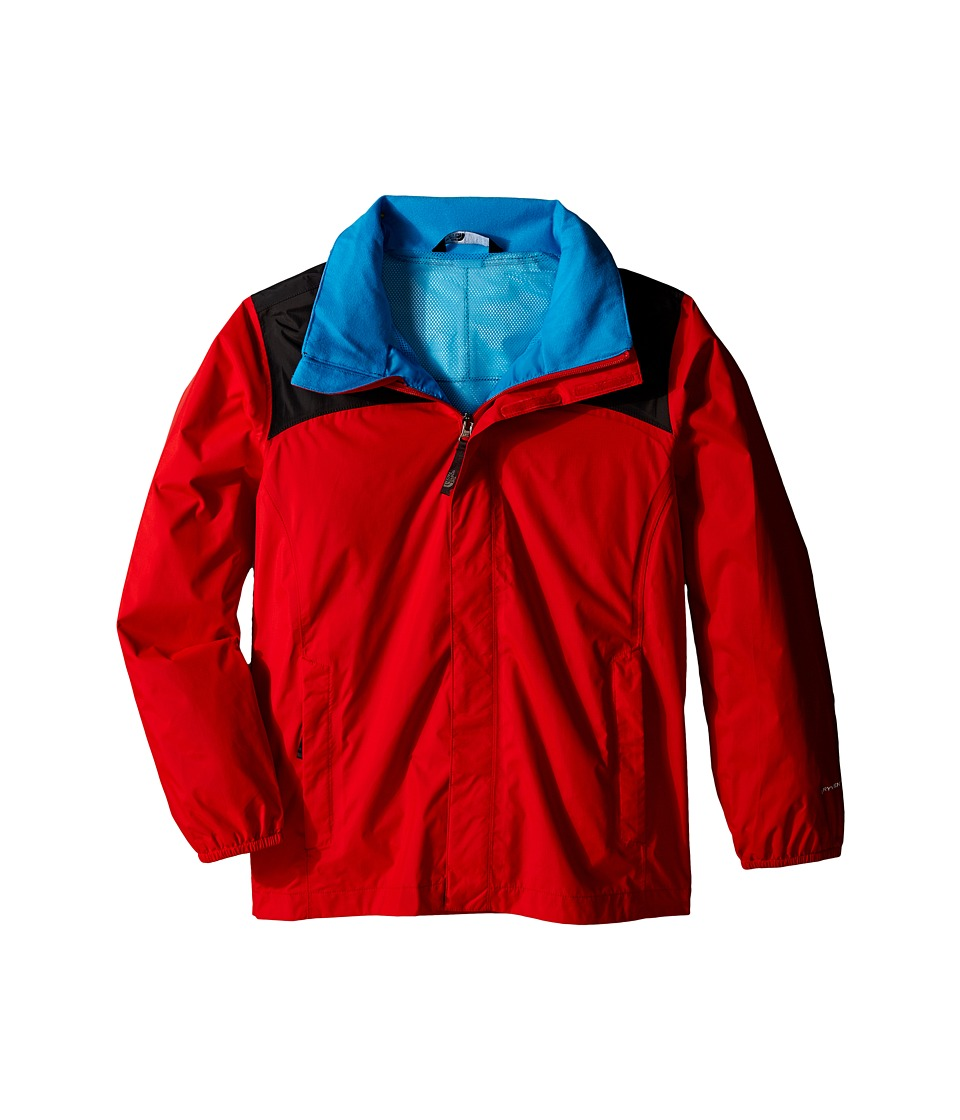 The North Face Kids - Resolve Reflective Jacket (Little Kids/Big Kids) (Fiery Red/Asphalt Grey) Boy's Coat