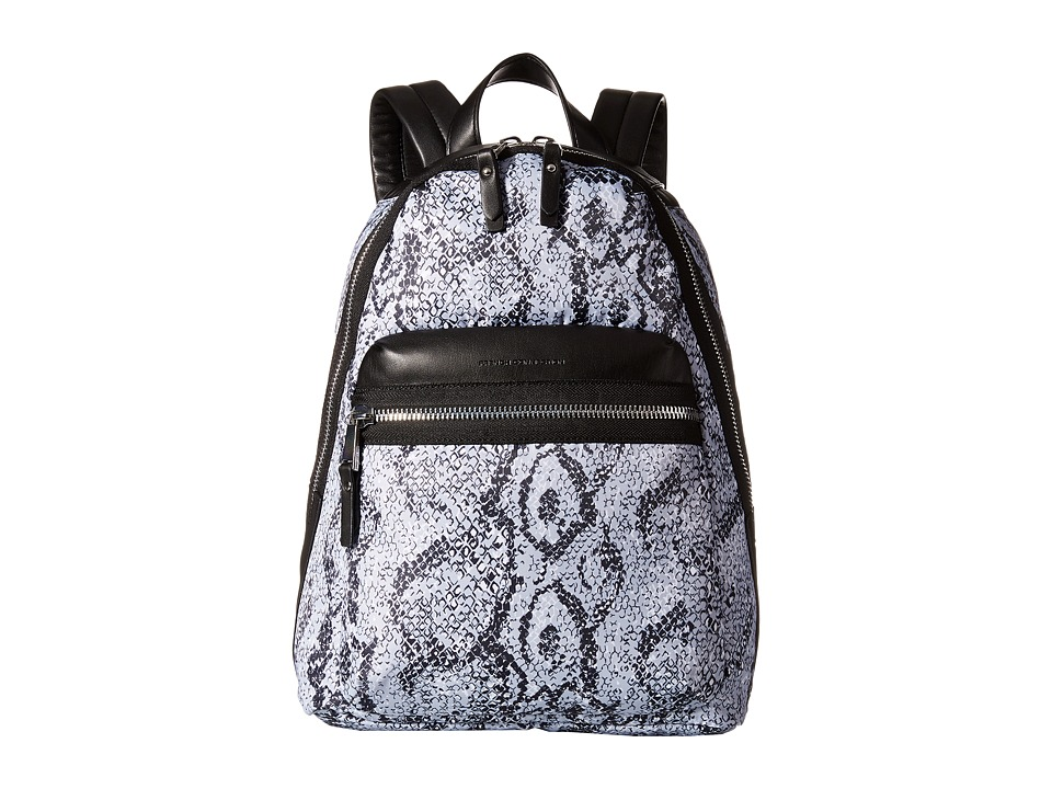 French Connection - Piper - Backpack (Black/White Snake) Backpack Bags