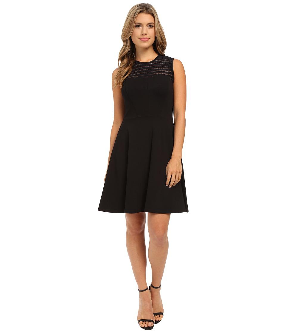 Shoshanna Calvin Dress (Jet) Women