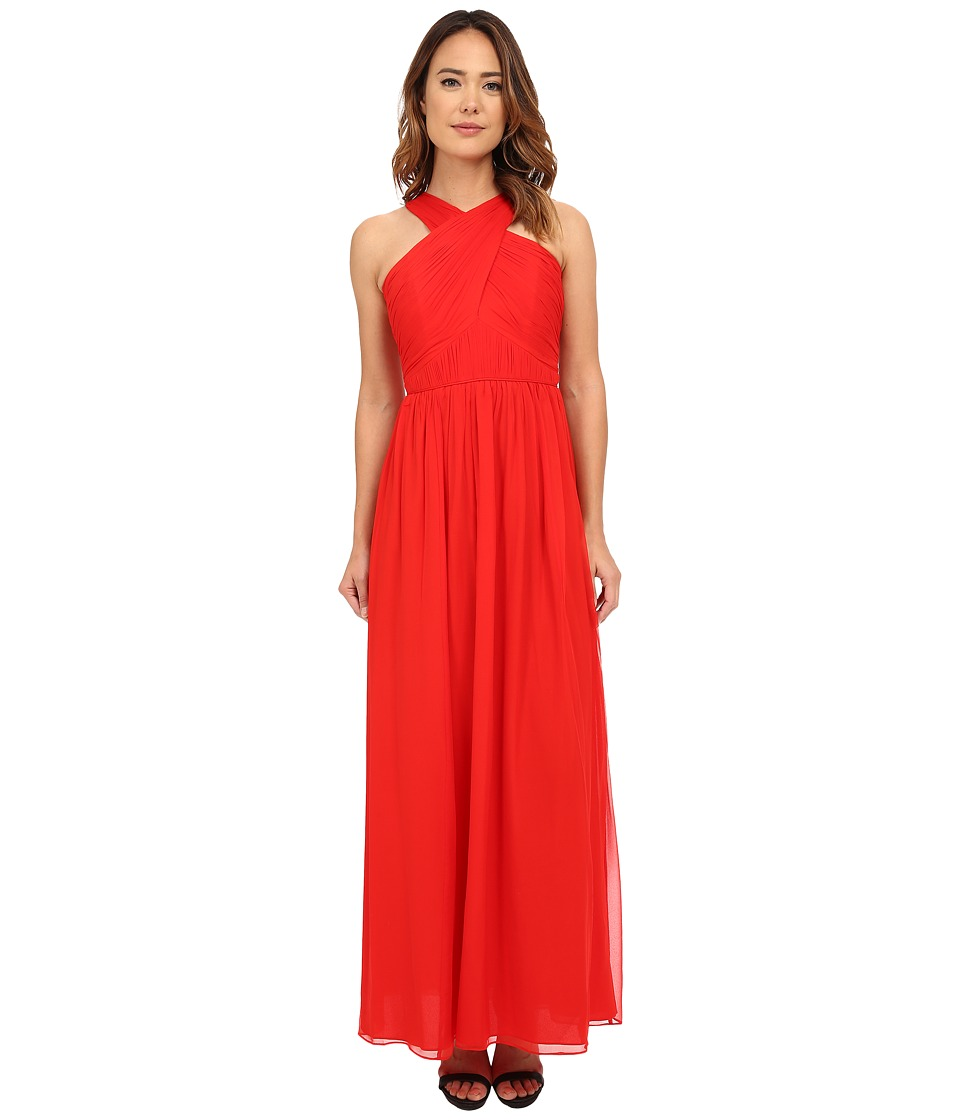 Shoshanna Dione Gown Flame Dress