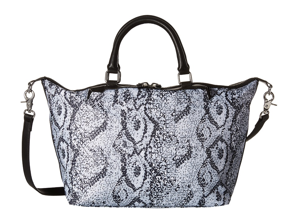 French Connection - Piper - Tote (Black/White Snake) Tote Handbags