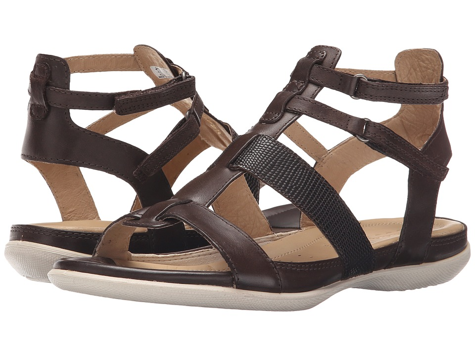 ECCO - Flash Ankle Sandal (Coffee/Coffee) Women's Sandals
