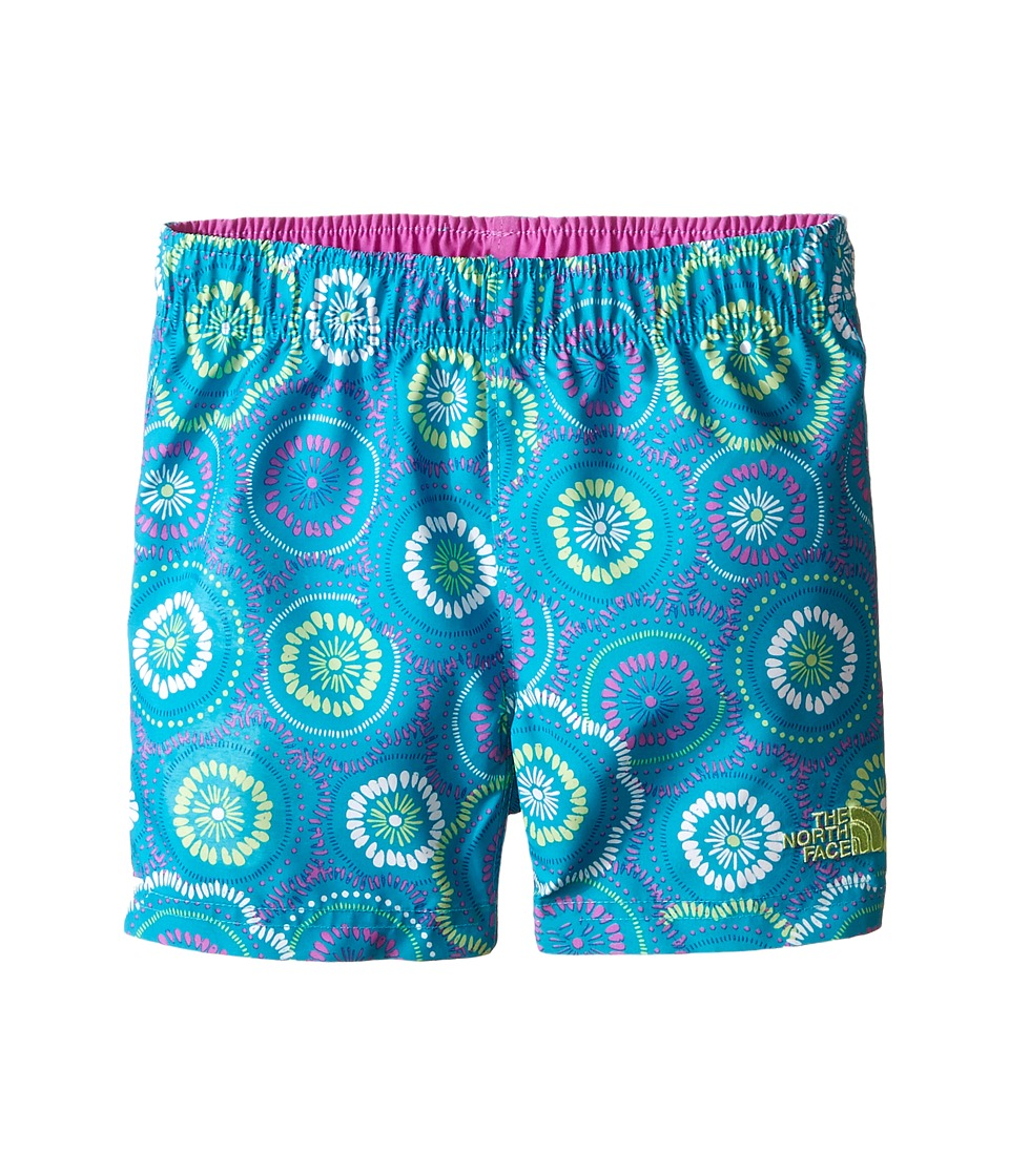 The North Face Kids - Hike/Water Shorts (Toddler) (Bluebird Sand Dollar Print) Boy's Shorts