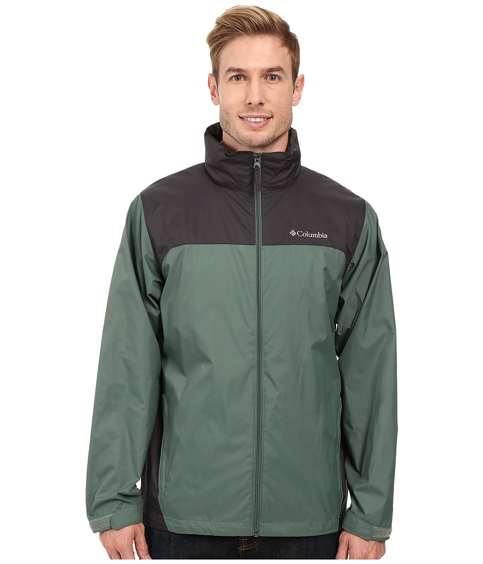 Columbia - Glennaker Lake Rain Jacket (Commando/Shark) Men's Coat