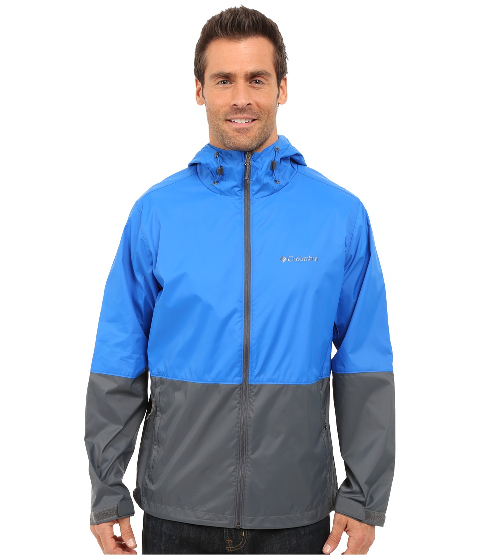 Columbia - Roan Mountain Jacket (Super Blue/Graphite) Men's Coat