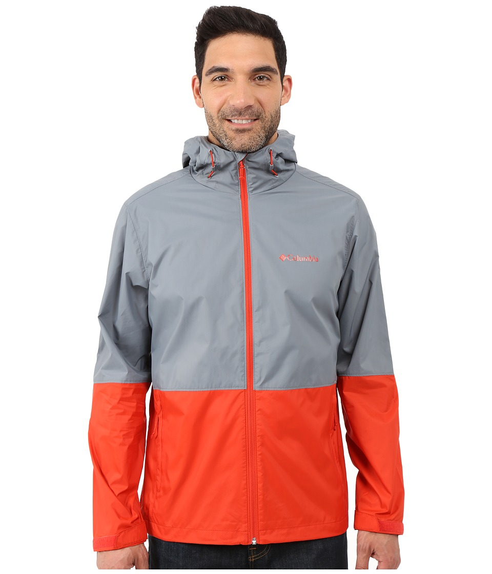 Columbia - Roan Mountain Jacket (Grey Ash/Super Sonic) Men's Coat