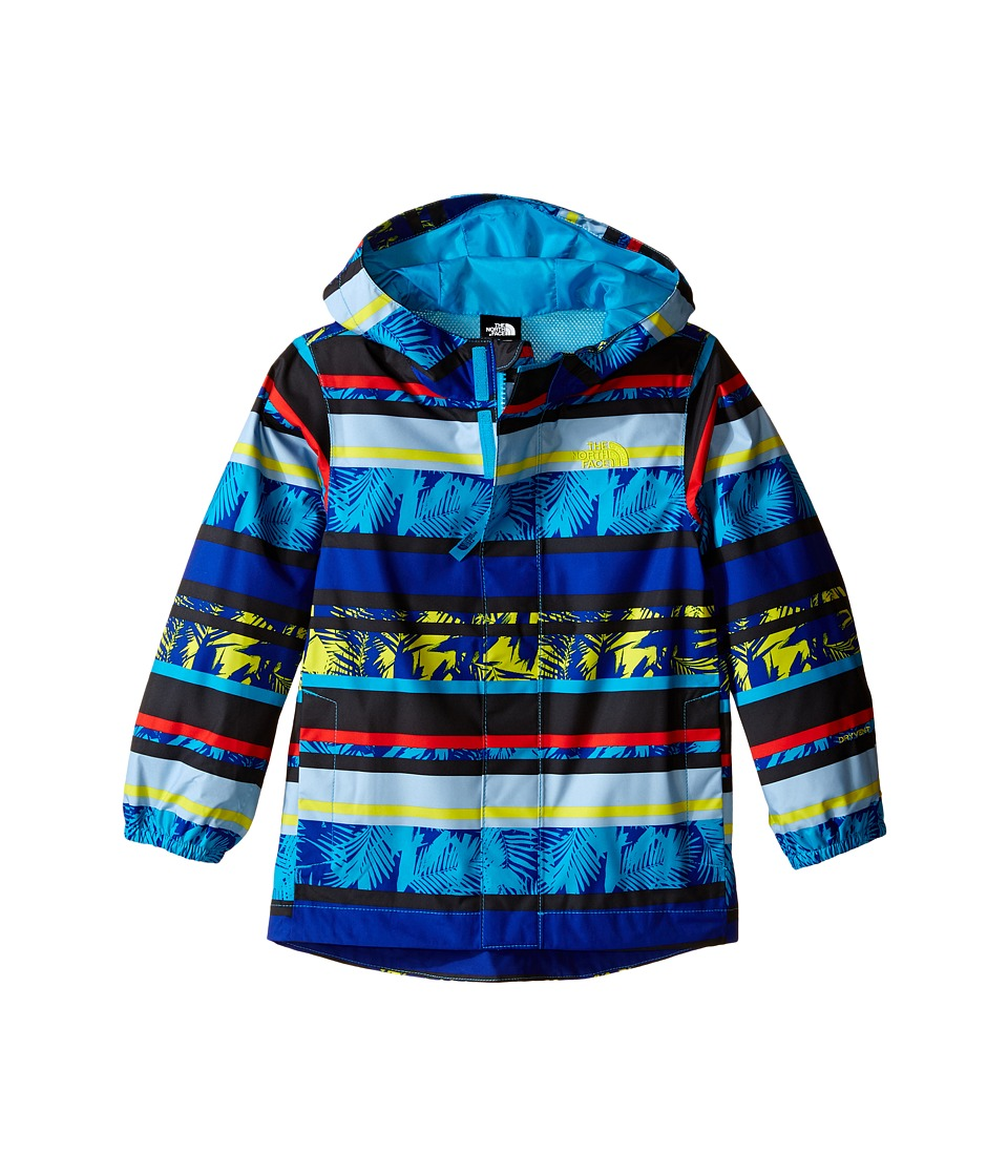 The North Face Kids - Printed Tailout Rain Jacket (Toddler) (Multistripe Palm Print) Boy's Coat