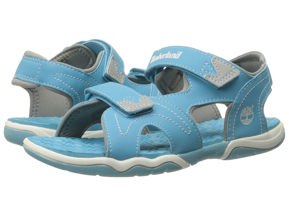 Timberland Kids - Adventure Seeker 2 Strap (Big Kid) (Lite Blue) Kid's Shoes