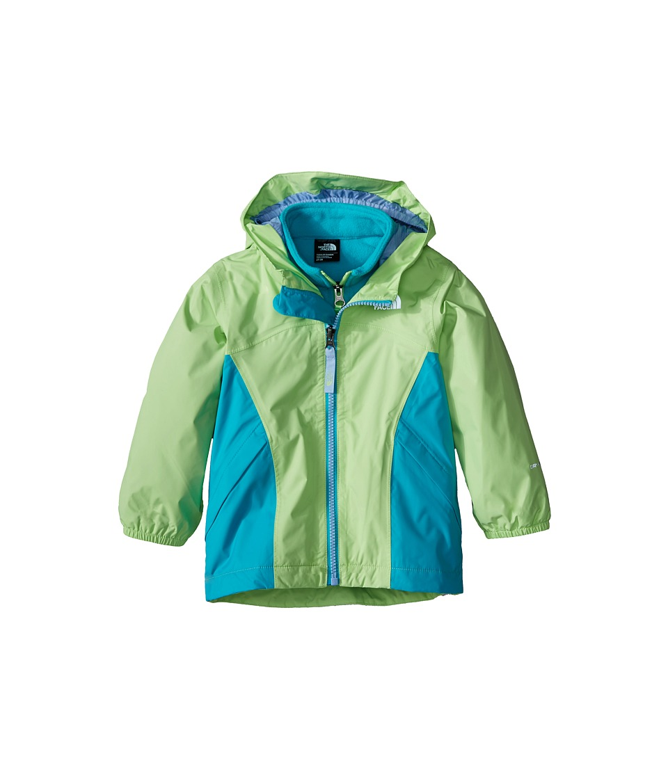 The North Face Kids - Stormy Rain Triclimate (Toddler) (Budding Green) Girl's Coat