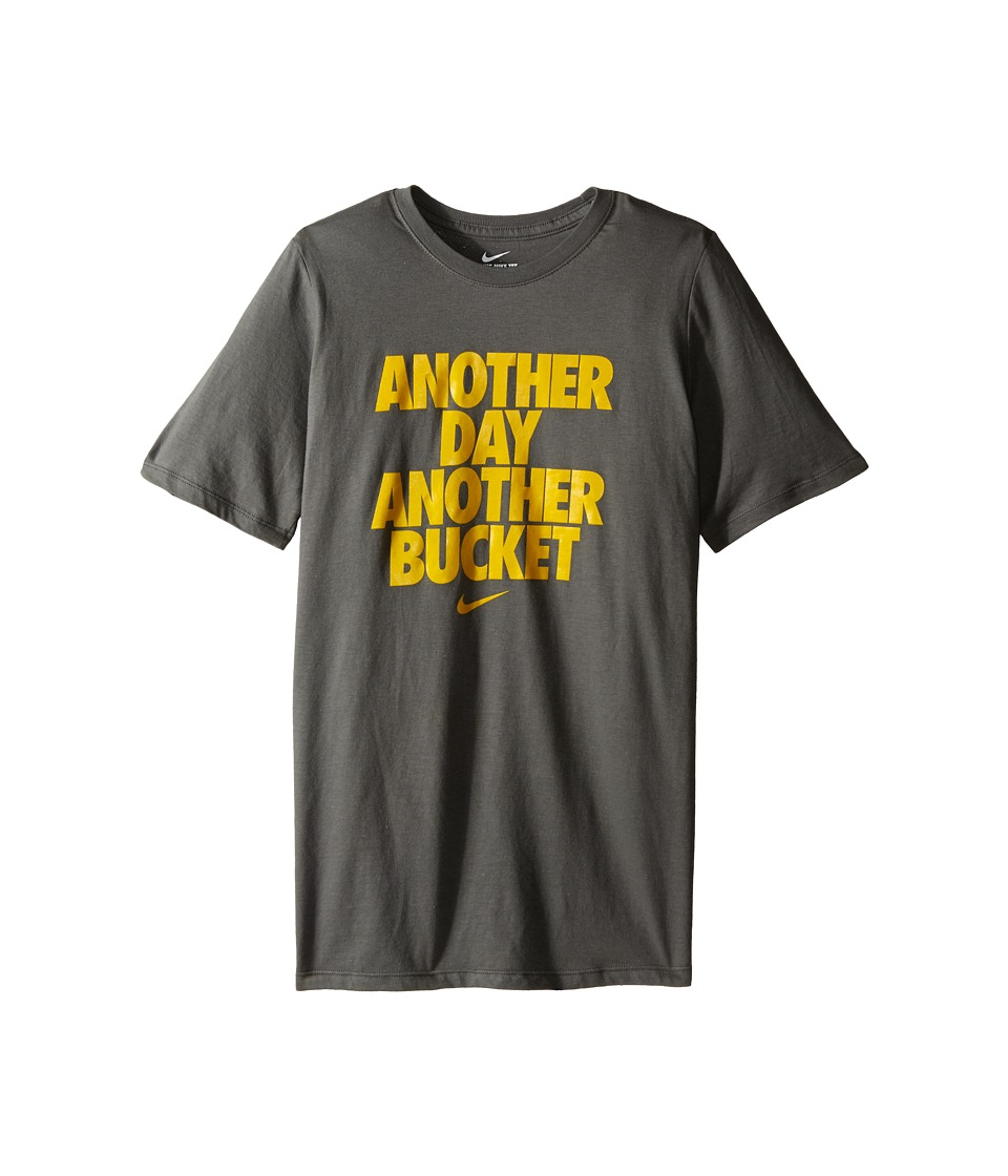 Nike Kids - NA Another Bucket Tee (Little Kids/Big Kids) (Tumbled Grey) Boy's T Shirt