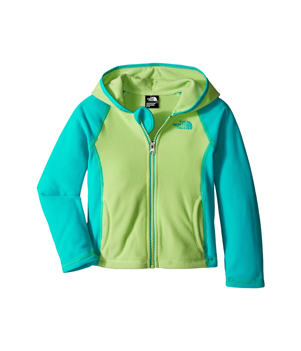 The North Face Kids - Glacier Hoodie (Toddler) (Budding Green) Girl's Sweatshirt