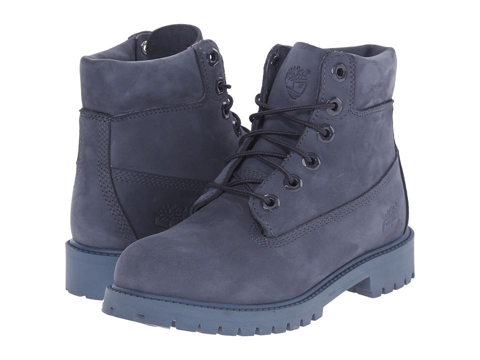 Timberland Kids - 6 in Premium Waterproof Boot (Big Kid) (Navy Monochromatic (Nightshadow)) Kids Shoes