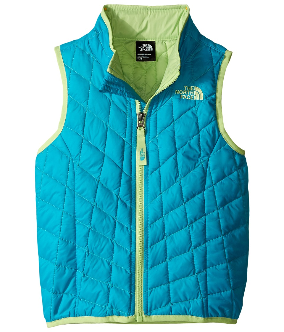 The North Face Kids - ThermoBall Vest (Toddler) (Bluebird) Girl's Vest