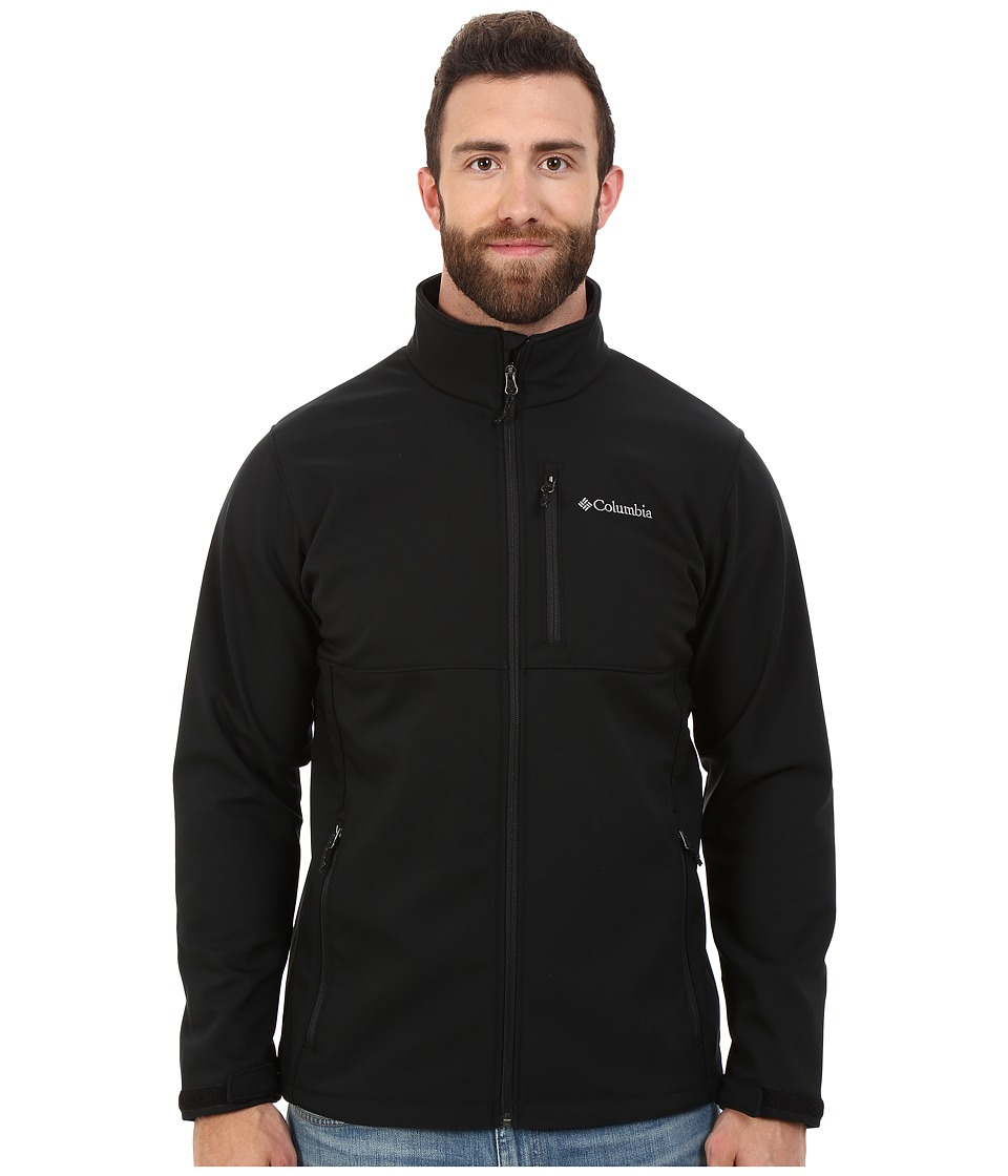 Columbia - Big Tall Ascender Softshell Jacket (Black) Men