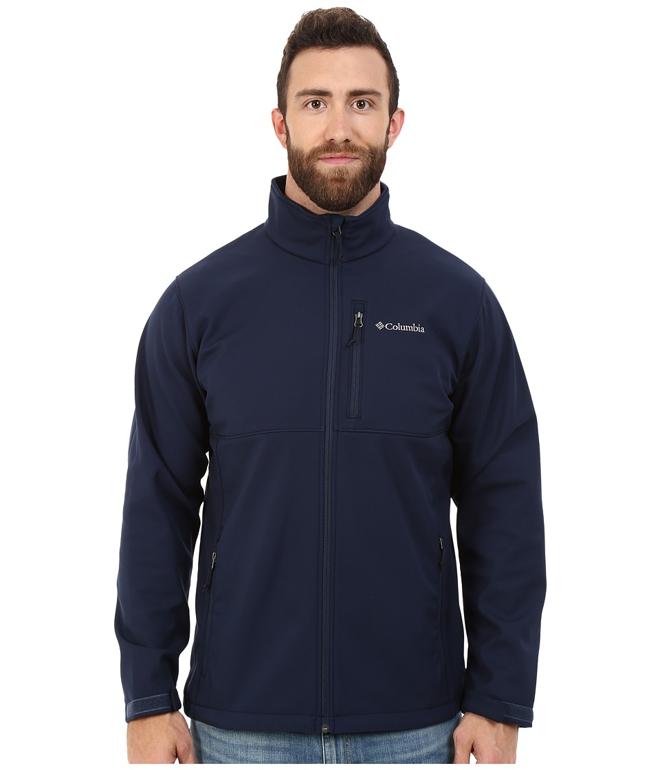 Columbia - Big Tall Ascender Softshell Jacket (Collegiate Navy) Men