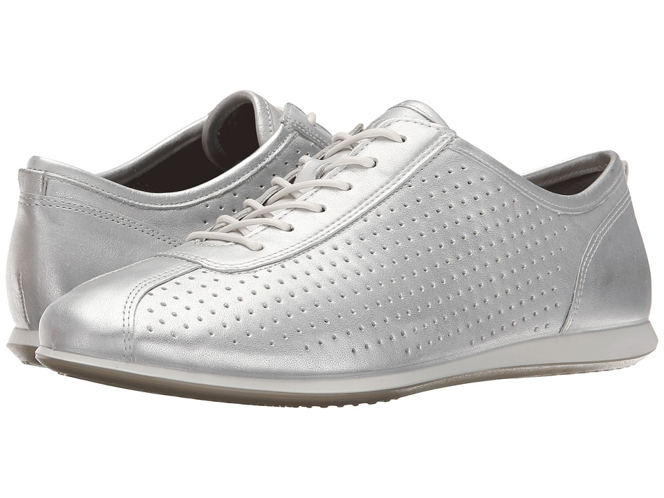 ECCO - Touch Sneaker (Silver Metallic) Women's Lace up casual Shoes